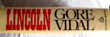 LINCOLN A NOVEL BY GORE VIDAL 1ST EDITION NEW