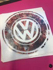 Funny Rat Look Volkswagen VW Badge Decal Sticker
