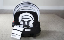 Carseat Canopy Caboodle Infant Car Seat Canopy Cover 5 piece Set Covers Stripes