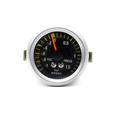 2″ 52mm LED Auto Mechanical Turbo Boost Meter Pressure Gauge Bar Carbon Fiber