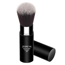 Retractable Powder/foundation Brush Travel Mini Loose Powder Brush w/ Cap