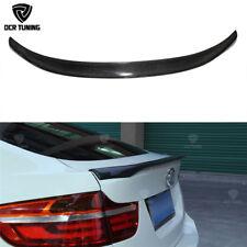 Carbon Fiber BMW E71 X6 Series M Performance Rear Wing Trunk Spoiler 40d X6M
