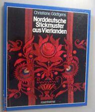Norddeutsche Stickmuster aus Vierlanden ~~ Christiane Gädtgens