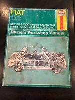 1969-1974 Fiat 128 Haynes Service Repair Owners Workshop Manual Number 087