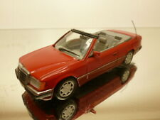 MINICHAMPS MERCEDES BENZ 300CE 24 CABRIOLET - RED 1:43 - VERY GOOD