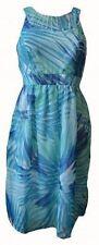 Knee Length Halterneck Casual Sundresses for Women