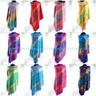 10pcs rainbow butterfly feather pashmina scarf Evening shawl Scarf