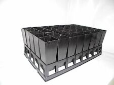 Plastic Forestry Plant Tube Pot Square 50mm x 40pcs with Air Pruning Tray