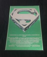 "Movie Poster Superman the Movie 1978 Mylar 21""x30"" NM 9.4 Christopher Reeve"