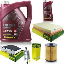 Motor oil 6L MANNOL 5W-30 Combi Ll + Mann Filter Air Skoda Superb 3T4 3.6 FSI