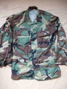 Veste de treillis combat camouflée Woodland US Army 1989