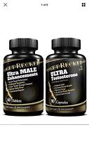 Ultra Male Enhancements - Testosterone Booster For Men COMBO All Natural
