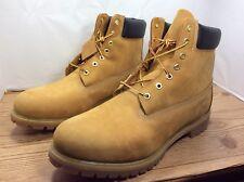 """Timberland 6"""" Waterproof Boot, Mens Size 16.0, Wheat"""