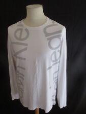 T-shirt Calvin Klein Blanc Taille XL à - 50%