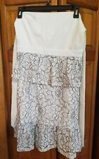 Missguided Women's Flower Skirt - Size 6 NWT