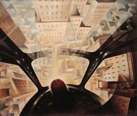 Plunging into the City : Tullio Crali : Circa 1932 : Archival Quality Art Print
