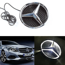 Illuminated LED Light Front Grille Grill Star Emblem for Mercedes Benz 2011-2017