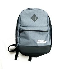 Twitch Con Gray Grey Backpack NWOT New