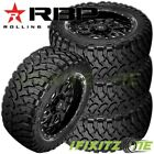 4 New Rbp Repulsor M/t 33x12.50r17lt 114q 8-ply Off-road Jeep/truck Mud Tires