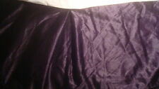 "Bed Skirt Dust Sz California King 70"" W X 84"" L Solid Purple"
