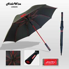 Golf Large Umbrella Premium Quality Automatic Black Anti-UV Ultra Strong Branded