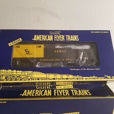 American Flyer 6-49041 Chesapeake & Ohio Operating Tie Car<++>BRAND NEW<++>OB<+>