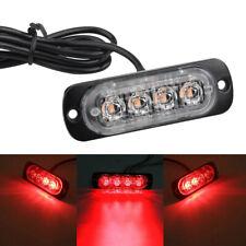 Car Truck Motorcycle Warning Flash Light Flashing Strobe Lamp LED 12/24V 1PC