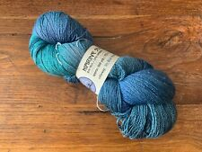 Blue Moon Fiber Arts BMFA Marine Silk Lace Color My Blue Heaven