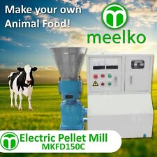 PELLET MILL 5.5kw 7.5HP ELECTRIC ENGINE READY TO SHIP IN USA WOOD OR ANIMAL FOOD