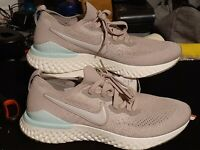Nike Epic React Flyknit 2 moon particle beige women's running shoes size 10.5