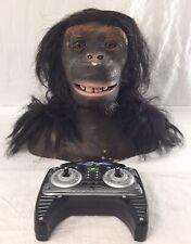 Wowwee Alive Ape Chimpanzee Monkey Animatronic Head Toy W/ Remote Sharper Image