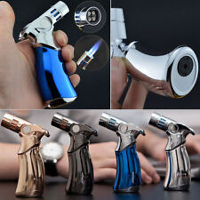 JOBON Quad 4 Jet Turbo Torch Refillable Cigarette Cigar Windproof Lighter Hot
