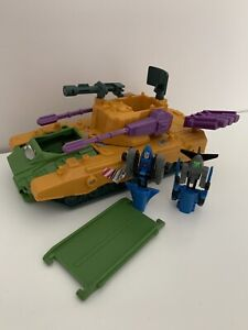 Blackout & Spaceshot With Anti-Aircraft Base Transformers Micromasters Hasbro