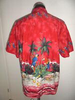 vintage KY`S Hawaii Hemd shirt surfer Freizeithemd made in hawaii oldschool XL