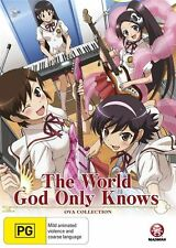 The World God Only Knows: Ova Collection NEW R4 DVD