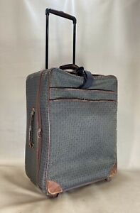 """Hartmann Wings Jacquard Brown 24"""" Upright Wheeled Rolling Expandable Suitcase"""