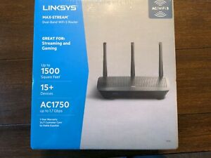 Linksys Max-Stream (EA7250) - Dual-Band WiFi 5 Router Great 4 Streaming & Gaming