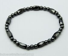 3 x Magnetic Hematite Bracelets for Arthritic Pain and Blood Pressure(BJEW-Q005)