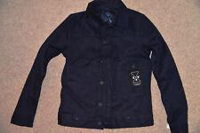 New G-Star RAW US Lumber 3D Slim Mazarine Twill Jacket Blue 82852D 6288 001 Smll