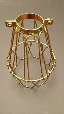 COPPERTONE CLAMP ON LAMP CAGE VINTAGE INDUSTRIAL STEAMPUNK A.K.A.CLAMPY JR