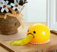 Squishy Puking Egg Yolk Stress Ball With Yellow Goop T1O4