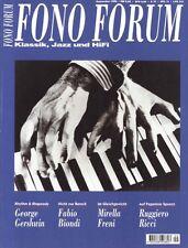 Fono Forum 9/98 Canton Fonum 550 DC, Magnat Vector 55, G. Gershwin, M. Freni