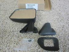 1989 - 1995 TOYOTA PICKUP NEW LEFT MANUAL DOOR MIRROR 128-61188A CHEAP #76-3N