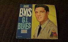 The King!  Elvis Presley in G.I Blues original soundtrack LP vinyl record album.
