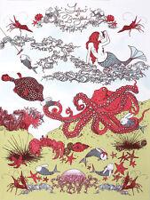KOZYNDAN-Tales Of bunnyfish molto edizione limitata di 70 e firmata stampa