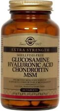 Glucosamine Hyaluronic Acid Chondroitin MSM (Shellfish-Free) Solgar 60 Tabs 2019