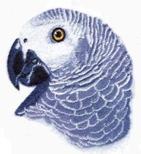 Embroidered Fleece Jacket - African Grey Parrot BT4591