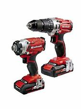 Einhell 4257214 Power X-change 2.0 Ah 18 V Combi Drill and Impact Driver