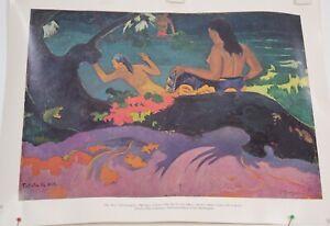 "Paul Gauguin Fatata te Miti By the Sea 1892 National Gallery of Art Print 11x14"""