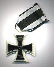 Médaille wk1 croix de fer 2. classe 1914 avec bande-ek2-TOP COLLECTIONNEUR Fabrication